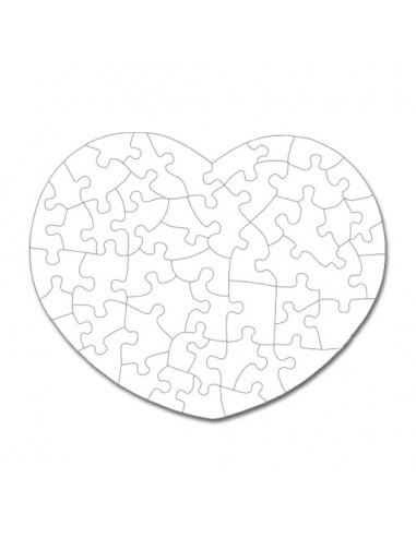 Puzzle imantado corazón