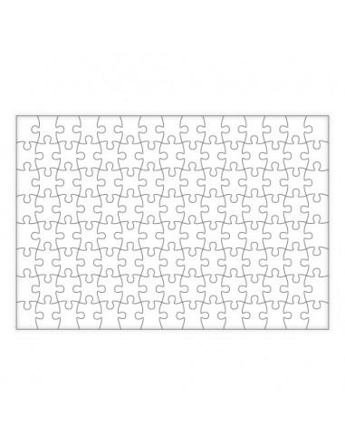 Puzzle rectangular imantado