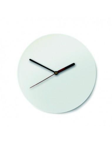 Reloj de pared de vidrio redondo