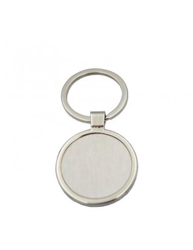 Llavero metal circular